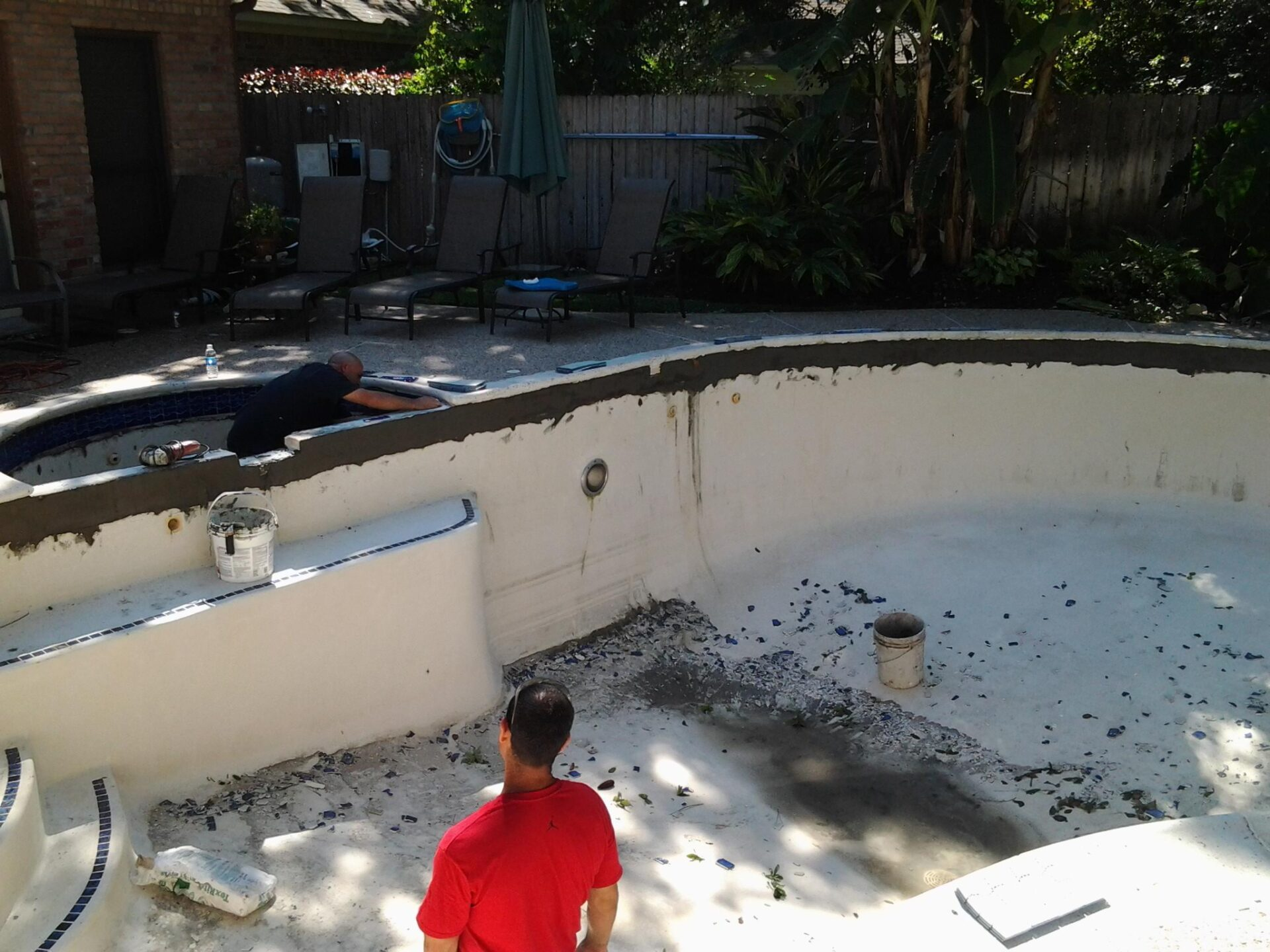 Pool Remodel - Copperfield - Before Image002
