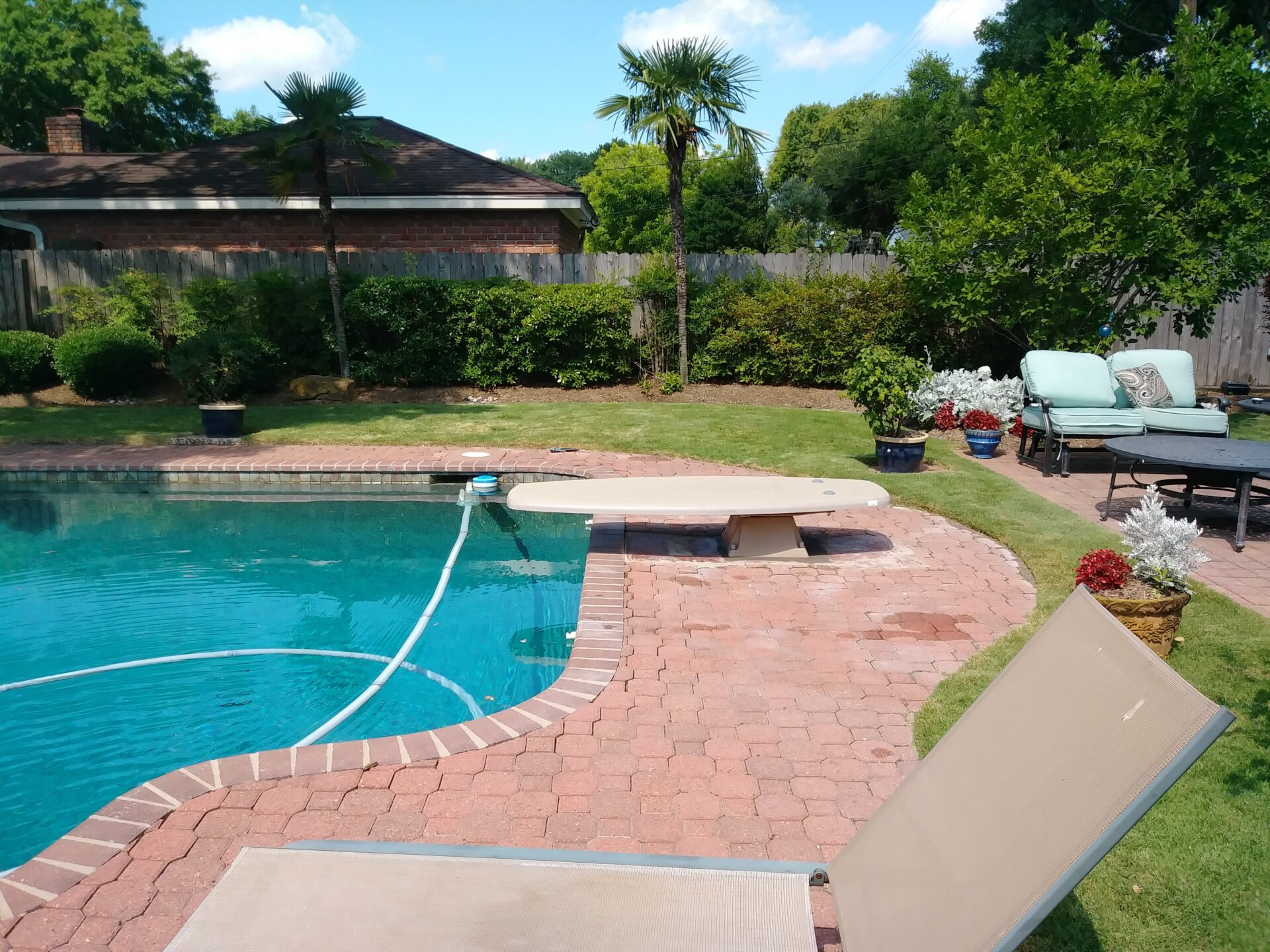 Diving Board Replacement - Jersey Village - After Image001