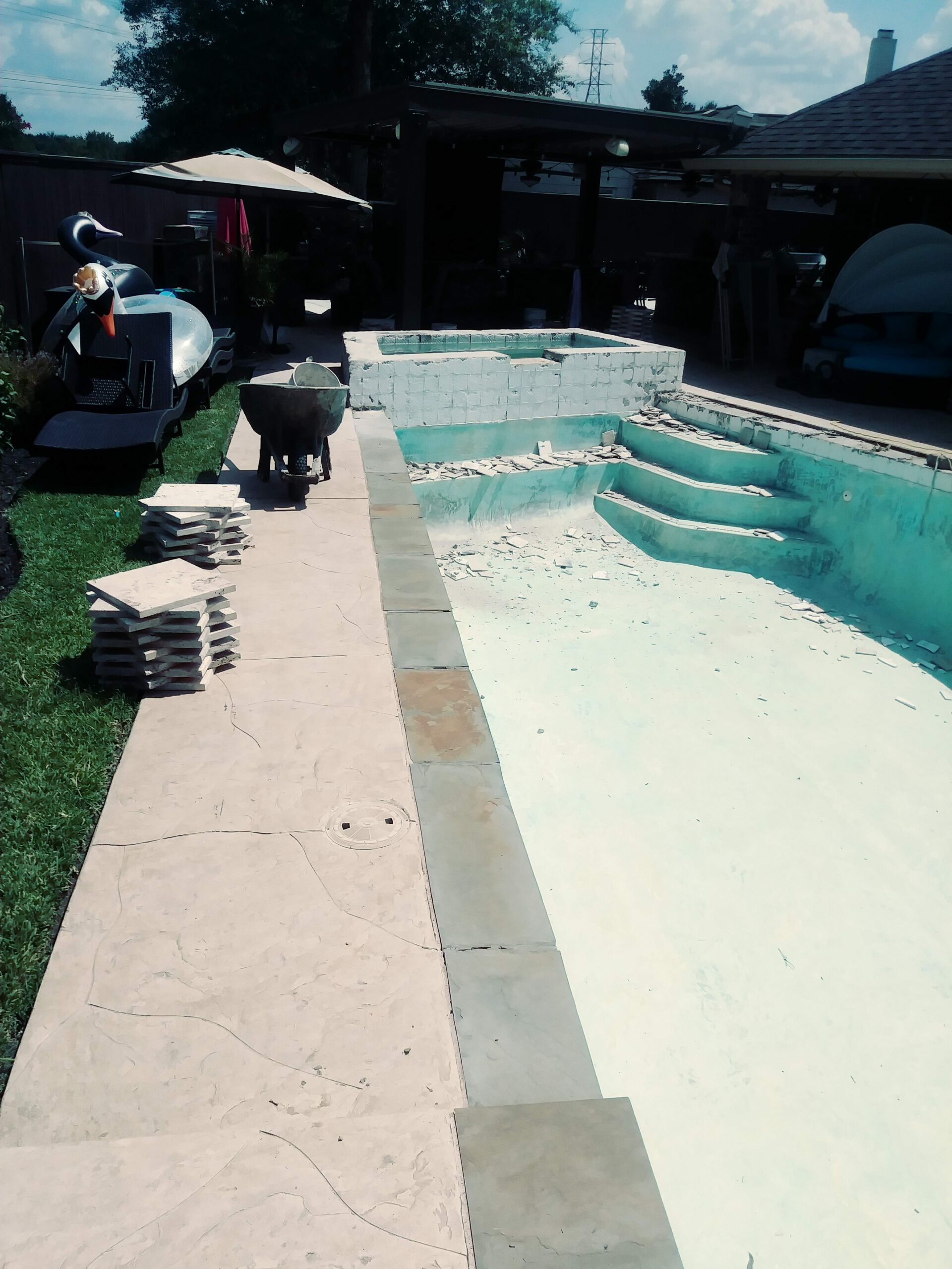 Pool Remodel - Katy - Before Image003