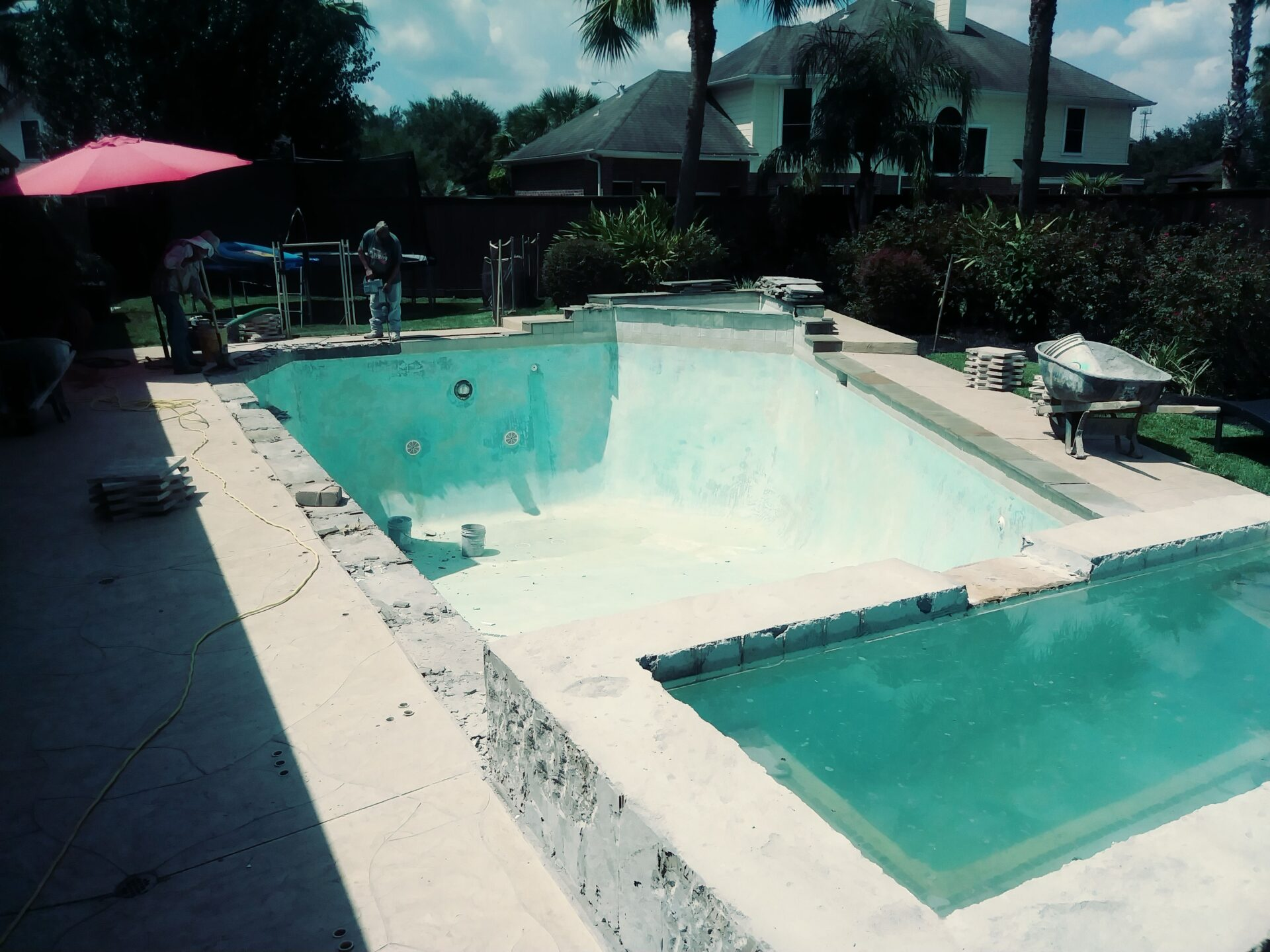 Pool Remodel - Katy - Before Image001