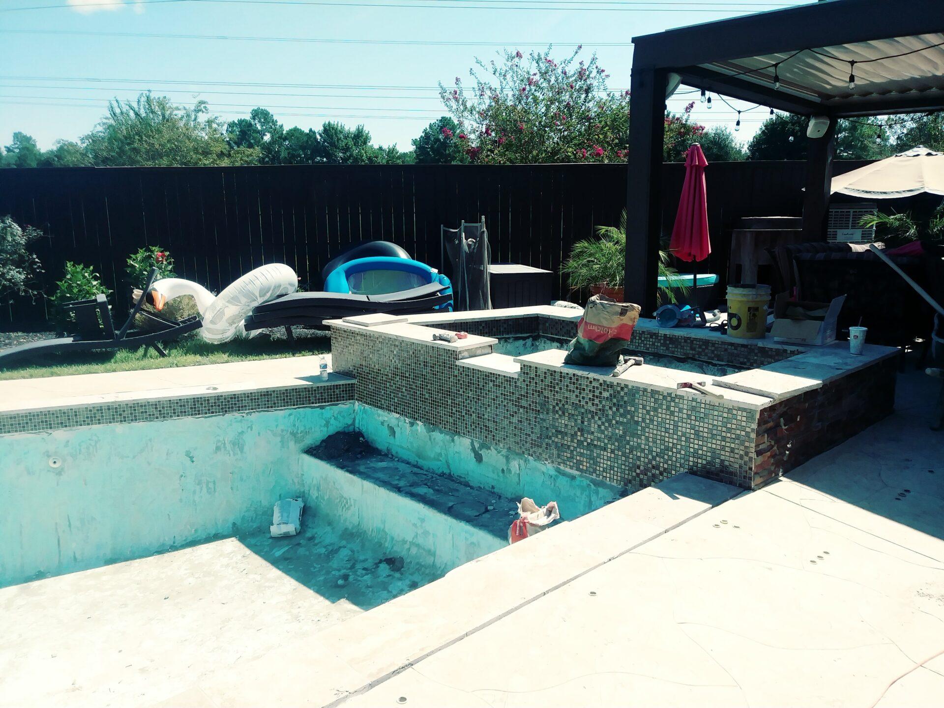 Pool Remodel - Katy - Before Image007