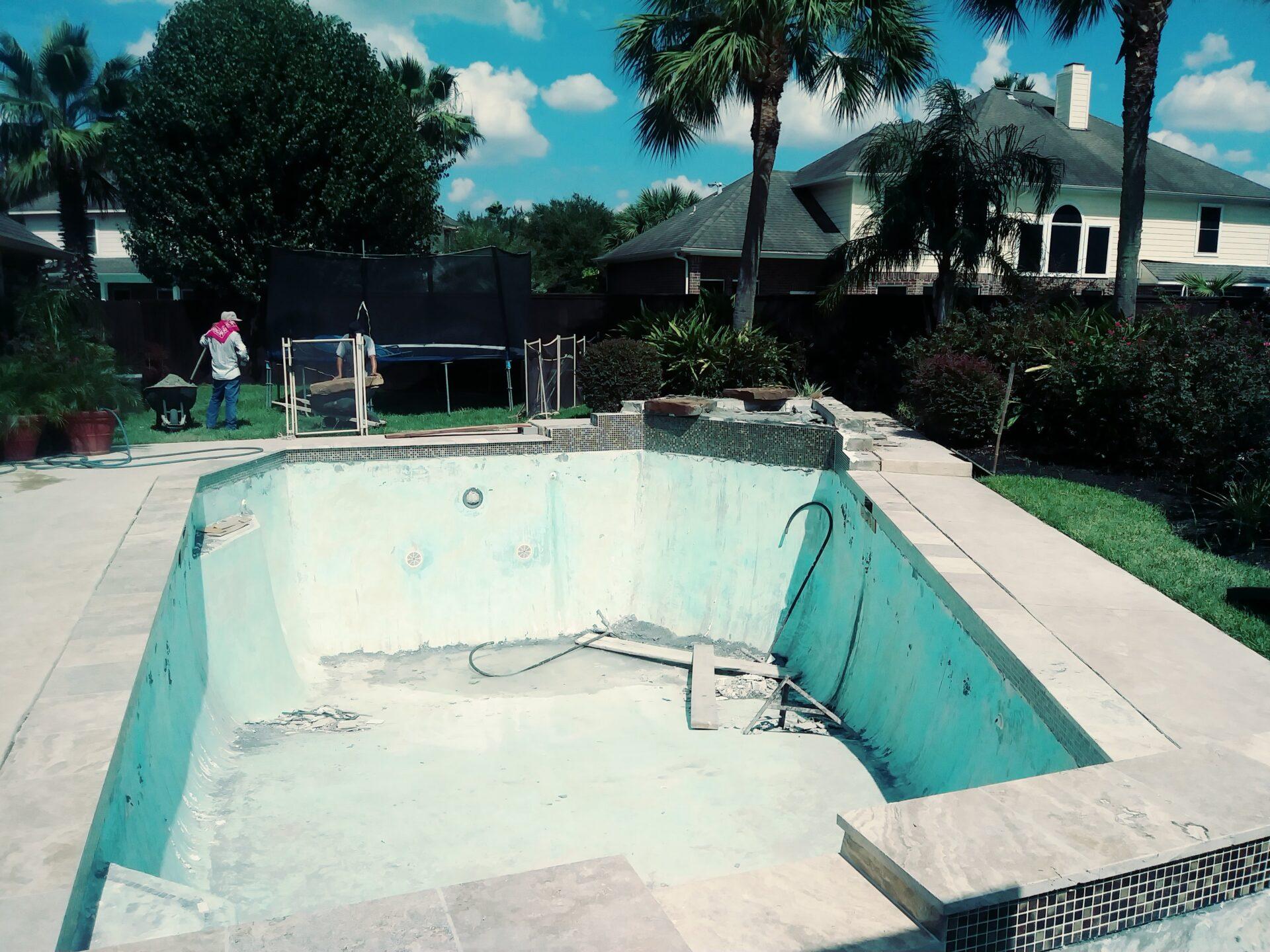 Pool Remodel - Katy - Before Image002