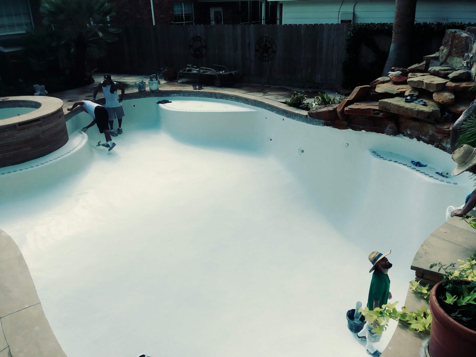 Pool Re-Plaster - Deerfield - After Image003