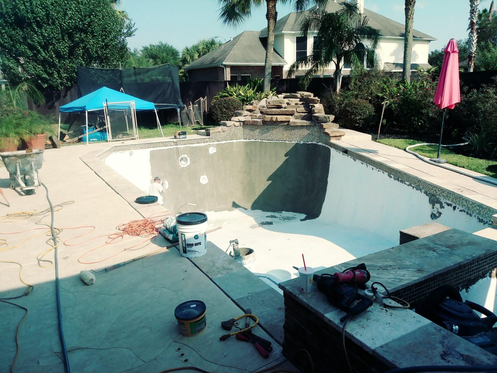 Pool Remodel - Katy - After Image002