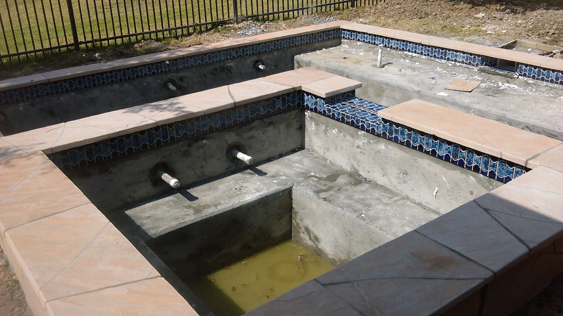 Pool Remodel - Copperfield - Before Image007