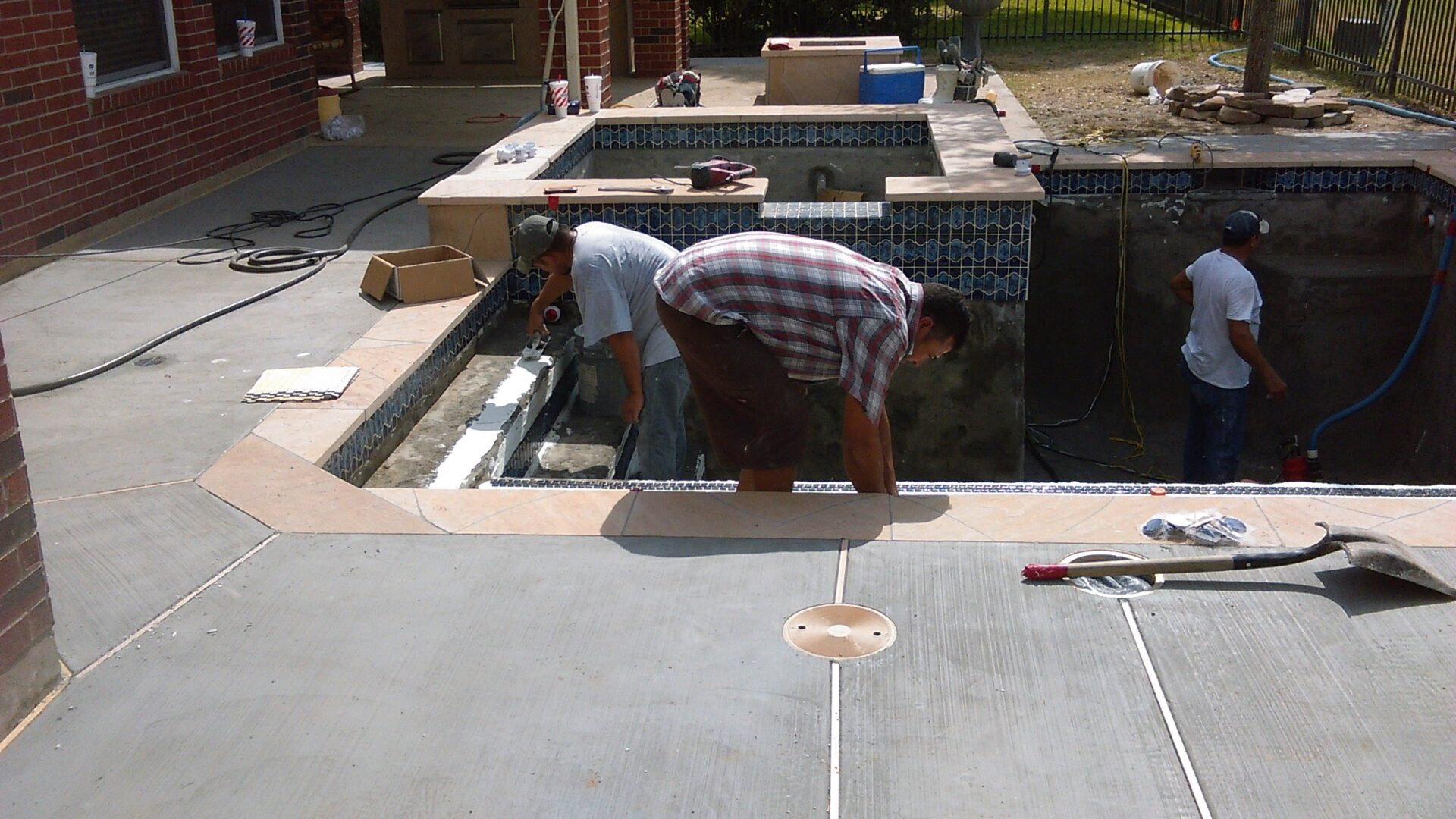 Pool Remodel - Copperfield - Before Image009