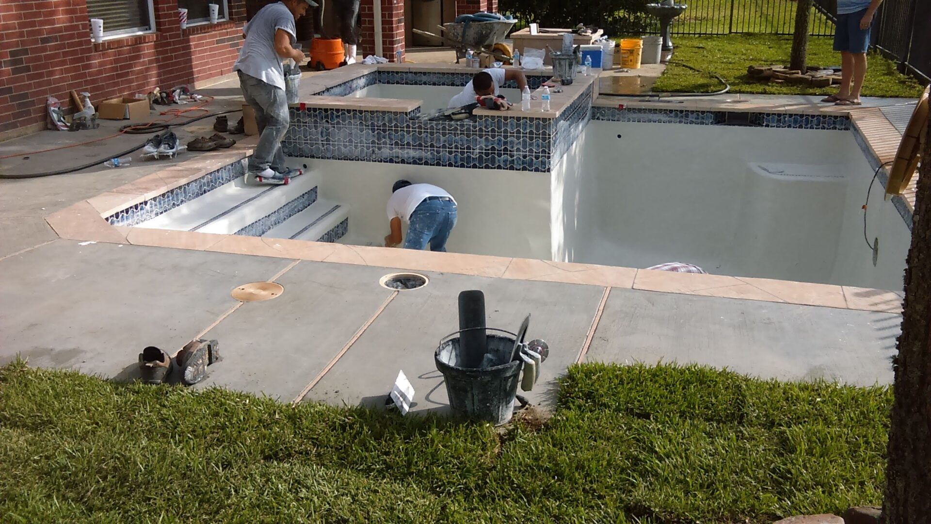 Pool Remodel - Copperfield - After Image001