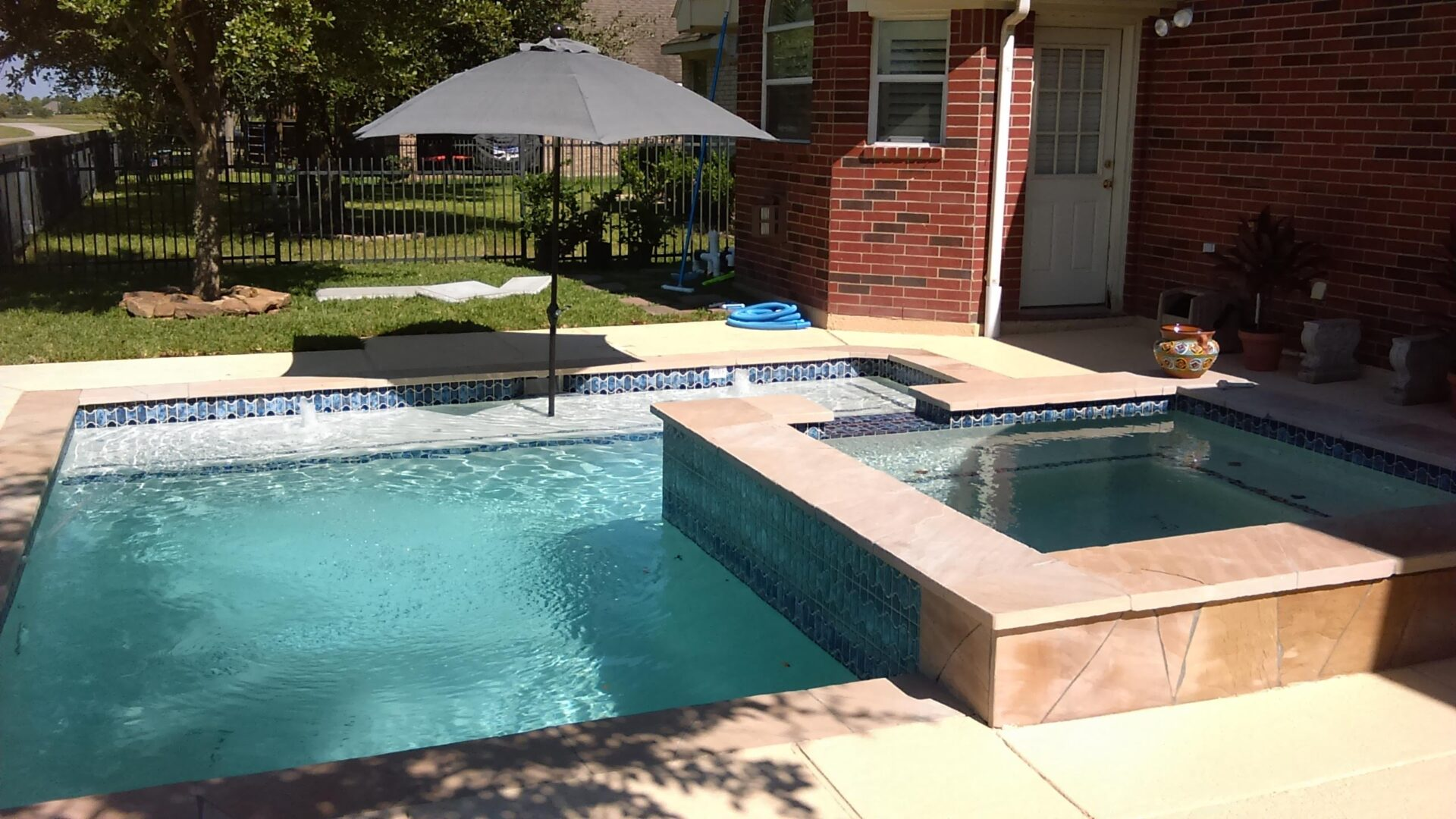 Pool Remodel - Copperfield - After Image006